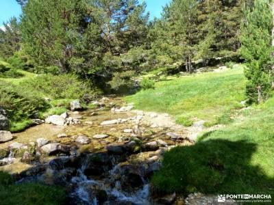 Tejos Rascafría-Valhondillo o Barondillo;desfiladero rio puron sierra de montsant parque natural o